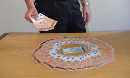 68 anni e 43 banconote false: beccato