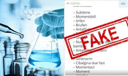 Allarme ranitidina e farmaci ritirati: occhio all'elenco fake