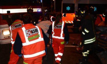 Incidente stradale a San Benedetto Po, 4 feriti SIRENE DI NOTTE