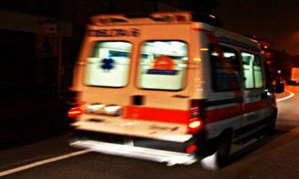 Maxi incidente: sei persone coinvolte fra cui una bimba di 7 anni SIRENE DI NOTTE