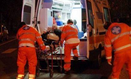 Incidente stradale sulla Spinosa, 40enne finisce in ospedale SIRENE DI NOTTE