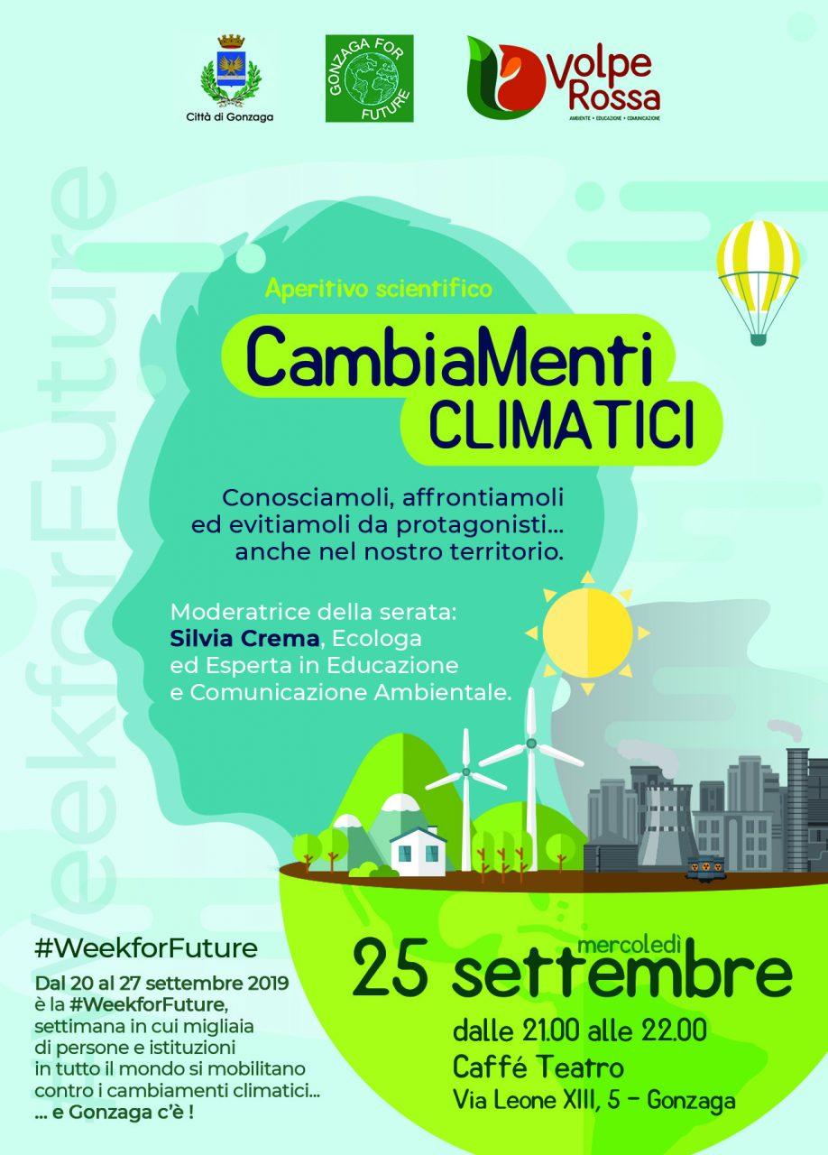 Gonzaga e i cambiamenti climatici: organizzato un aperitivo scientifico sul tema
