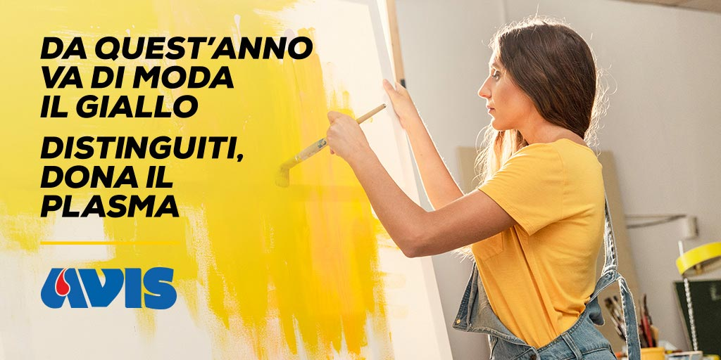 Al Festivaletteratura tutti in giallo per promuovere la donazione di plasma