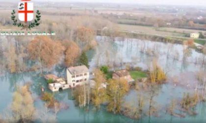 Piena del Po: evacuate 73 persone, ponti chiusi, viabilità deviata