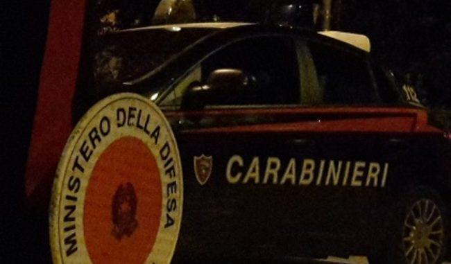 Alla guida ubriaco, denunciato dai Carabinieri