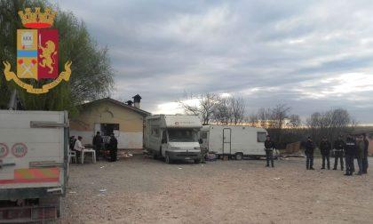Controlli al campo nomadi e negli esercizi pubblici segnalati dai cittadini