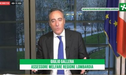 """Coronavirus, Gallera: """"I dati vanno meglio"""" A Mantova 1.617 positivi (+67) VIDEO"""