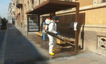 Iniziata la sanificazione delle strade a Mantova FOTO