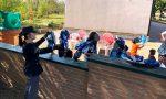 Gli Agenti della Questura di Mantova donano uova ai bambini della casa famiglia