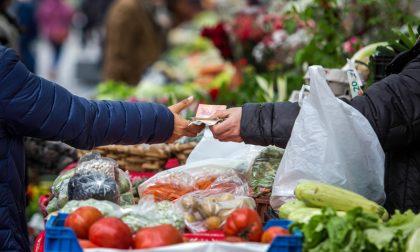 Zona arancione rinforzata, il mercato del giovedì si sposta in Piazza Sordello