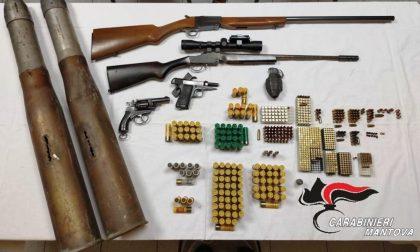 """Trovate altre armi dell'arsenale del """"nonno violento"""": si allunga la lista dei reati a suo carico VIDEO"""