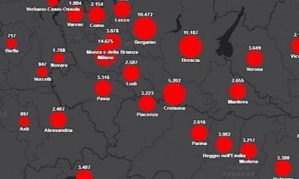 Rapporto tra residenti e contagiati: Mantova tra le province più colpite dal Coronavirus