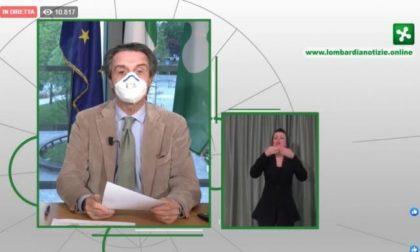 """Coronavirus, Fontana: """"Numeri in miglioramento, la cosa ci rasserena"""". Nel Mantovano + 57"""