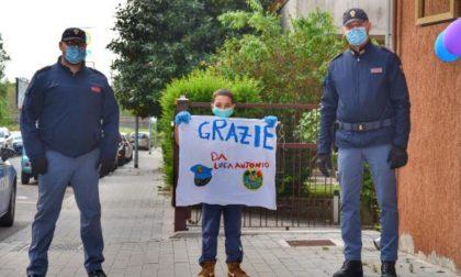 Il piccolo Luca Antonio compie 8 anni ma non festeggia solo: la sorpresa della Polizia di Mantova