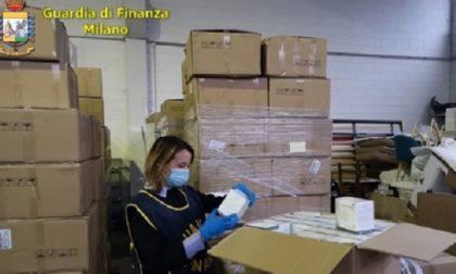 Maxi sequestro della Guardia di Finanza: oltre 240mila mascherine illegali ritirate