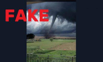 La bufala del tornado nella Bassa: fotomontaggio creato ad arte...ma è l'Oklahoma