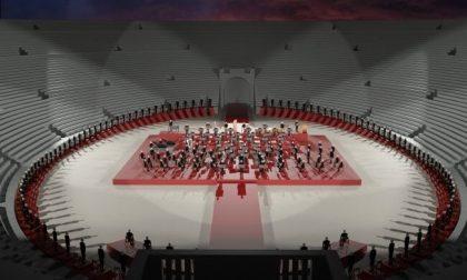 L'Arena di Verona si reinventa per l'estate: palco al centro e spettatori solo sugli spalti