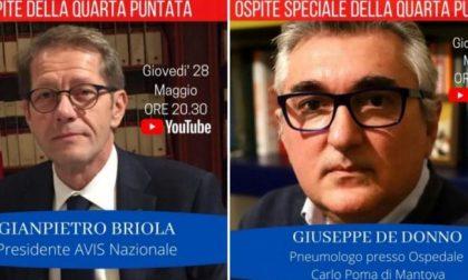 """Questa sera il Professor Giuseppe De Donno sarà ospite del talk """"A casa con Avis"""""""