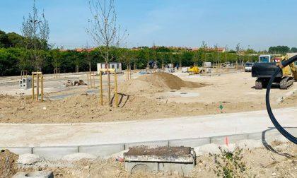 Continuano i lavori del parcheggio di Porta Cerese a Mantova, in arrivo 170 posti auto gratuiti