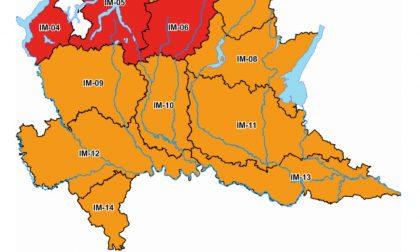 Allerta meteo arancione: nel Mantovano temporali fino a domani