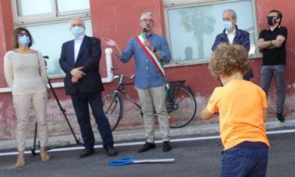 Inaugurata la nuova via Silvio Pellico completamente riqualificata