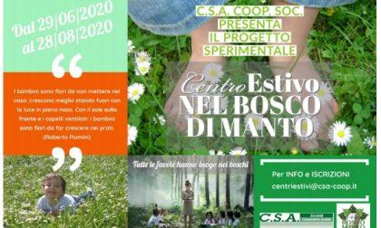 Presentato il progetto innovativo del Centro Estivo nel Bosco di Manto, a due passi da Palazzo Te