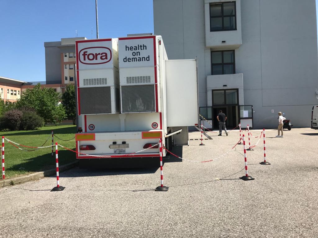 A Pieve in arrivo la nuova tac a 128 strati: nel frattempo le tac si svolgeranno... su un camion