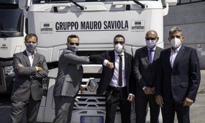 Gruppo Saviola rinnova il parco mezzi: arrivati 16 nuovi camion