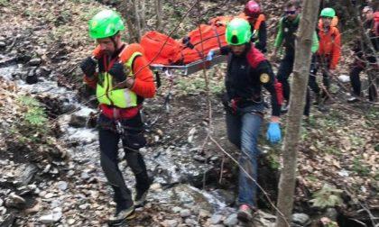 Escursionista mantovano bloccato in montagna: sfinito dalla stanchezza è stato recuperato dal Soccorso Alpino