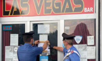 Giro di vite dei Carabinieri per contrastare la ludopatia: locale chiuso per 15 giorni