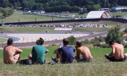 Gran Premio del Mugello: l'arrivo dei tifosi della Ferrari IL VIDEO
