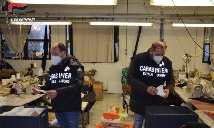 Norme Covid non rispettate: chiuso laboratorio tessile di Ponti sul Mincio