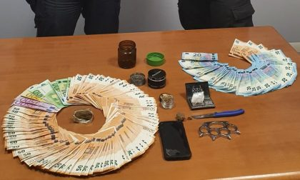 Carabinieri intervengono per una lite in famiglia ma scoprono un piccolo magazzino della droga