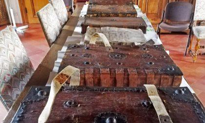 Cinque libri corali miniati restituiti alla Diocesi di Mantova FOTO