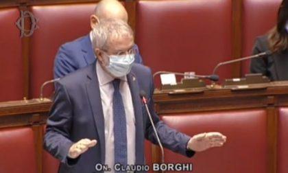 """Il deputato Borghi (Lega) contro Conte: """"L'Italia è una Repubblica fondata sul lavoro, non sulla salute"""" VIDEO"""