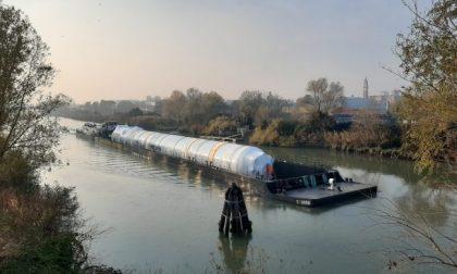 Trasporti eccezionali da Mantova a Venezia attraverso le idrovie venete – Gallery