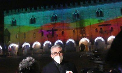Mantova: tre video mapping raccontano gli elementi della natura e animano il centro
