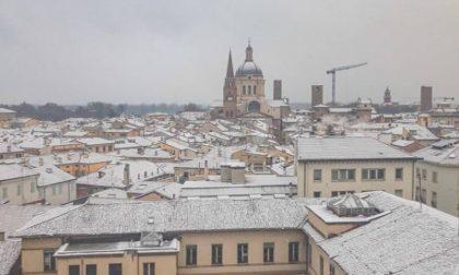 La prima neve di stagione a Mantova raccontata attraverso Instagram FOTO