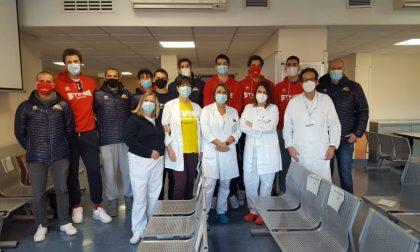 Stings e Asst Mantova insieme per sensibilizzare alla donazione del plasma