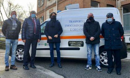 Il Consorzio Parmigiano Reggiano dona un furgone al Poma