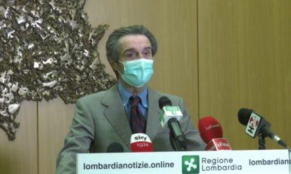 """Fontana: no al blocco spostamenti tra Comuni a Natale. E dà una tempistica per Lombardia in """"zona gialla"""""""