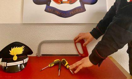 Da Verona al Mantovano con kit da scasso in auto: tre denunciati