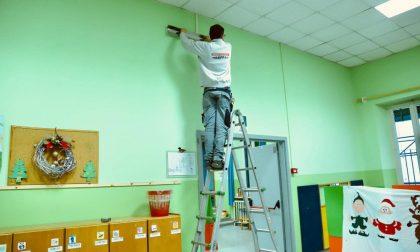 Iniziata l'installazione delle 215 lampade sanificanti negli asili e nelle materne comunali