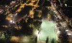 Nuove luci per il campo da calcio di piazza Virgiliana