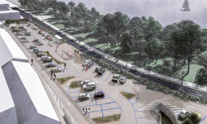 Approvato il progetto per il nuovo parcheggiosul Lungolago Gonzaga, le foto