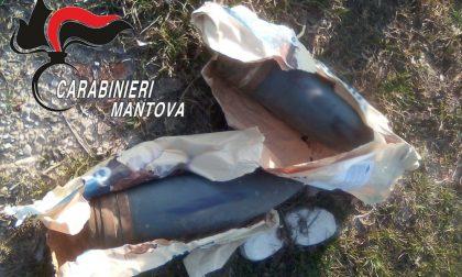 Ritrovati ordigni bellici nel Mantovano, il video dell'esplosione