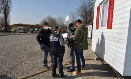 Controlli straordinari della Polizia di Mantova al Te Brunetti e al Migliaretto
