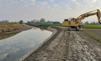 Conclusi i lavori al canale Sabbioncello, ora Quistello è più sicura