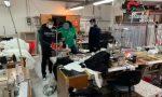 Mancato rispetto delle norme anti Covid in due laboratori tessili: disposta per entrambi la chiusura