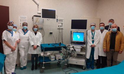 L'Istituto Oncologico Mantovano dona un insufflatore di anidride carbonica all'Endoscopia di Pieve